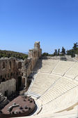 Part of ancient Odeon of Herodes Atticus — Stock Photo