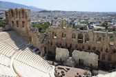 Part of Odeon of Herodes Atticus — Stock Photo