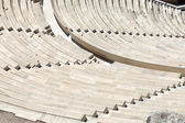 Seats of Odeon of Herodes Atticus — Stock Photo