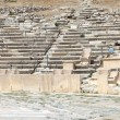 Remains of seats in Theater of Dionysus — Stock Photo