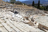 Athens Ancient Theatre of Dionysus — Stock Photo