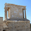 Side of temple of Athena Nike - Stock Photo