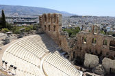 Landscape of Odeon of Herodes Atticus — Stock Photo