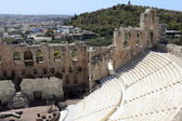View of Odeon of Herodes Atticus — Stock Photo