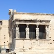 Details of Erechtheum greek temple — Stock Photo