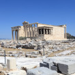 Stock Photo: Front of Erechtheum ancient temple