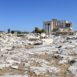 Stock Photo: Landscape of Erechtheum ancient Greek temple