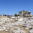 Landscape of Erechtheum — Stock Photo