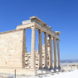 Part of Erechtheum greek temple - Stock Photo