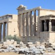 Part of Erechtheum temple - Stock Photo
