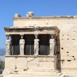 Sculpture of Erechtheum ancient temple - Stock Photo