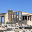 View of Erechtheum temple — Stock Photo