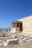 Details of Erechtheum temple — Stock Photo