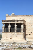 Sculpture of Erechtheum ancient temple — Stock Photo