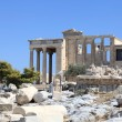 Stock Photo: Facade of Erechtheum
