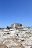 View of Erechtheum ancient Greek temple — Stock Photo