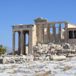 Stock Photo: Facade of Erechtheum temple
