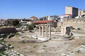 Details of roman agora — Stock Photo