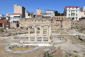 View of roman agora — Stock Photo