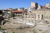 Landscape of roman agora — Stock Photo