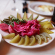 Stock Photo: Pickled vegetables in taverna