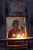 Icon of Mary and Jesus — Stock Photo