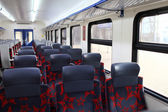 Inside of train — Stockfoto