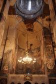 Pared de la iglesia de todos los santos en georgia — Foto de Stock