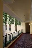 Corridor of hotel — Stock Photo