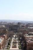 Skyline of Yerevan from Cascade — Stock Photo