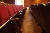 Interieur van het theater — Stockfoto