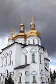 Frente da catedral da trindade — Foto Stock