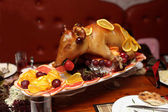 Fried pig — Stock Photo