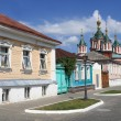 View of street in Kolomna Kremlin — Stock Photo