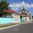 Kolomna Kremlin street — Stock Photo