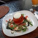 Plate of insalata caprese — Stock Photo #29678405