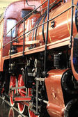View of old locomotive train — Stock Photo