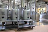 Equipment of brewery — Stock Photo