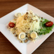 Stock Photo: Bird nest egg salad