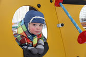 Boy at playground — Stock Photo