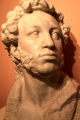 Sculpture of Pushkin — Foto de Stock