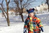 Portrait of kid — Stock Photo