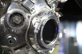 Porthole of Luna3 spacecraft — Stock Photo