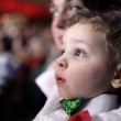 Astonished child at circus — Stock Photo #40915629