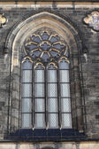 Window of basilica of St Peter and St Paul — Stock Photo