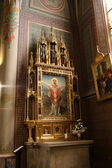Altar of basilica — Stock Photo