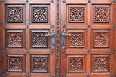 Kilise st. ludmila parçası kapı — Stok fotoğraf