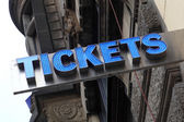 Tickets — Stock Photo