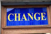 Change — Stok fotoğraf