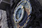Mittelalterliche astronomische uhr — Stockfoto